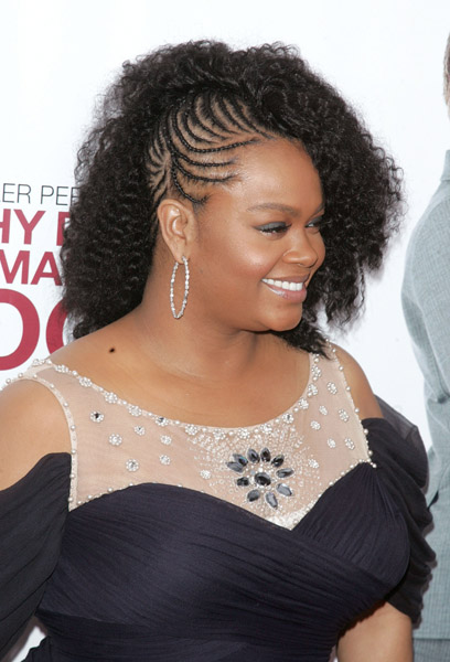 jill-scott-side-braids-hairstyle