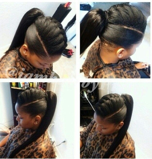 wedding guest hairstyles for long hair : Pics Photos - Weave Ponytail Hairstyles With Bangs